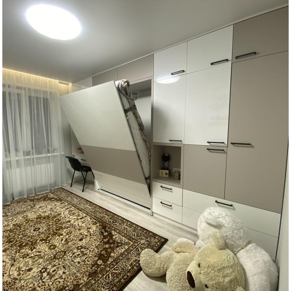 Кровати трансформер с шкафами и туалетным столиком: ул. Неманская